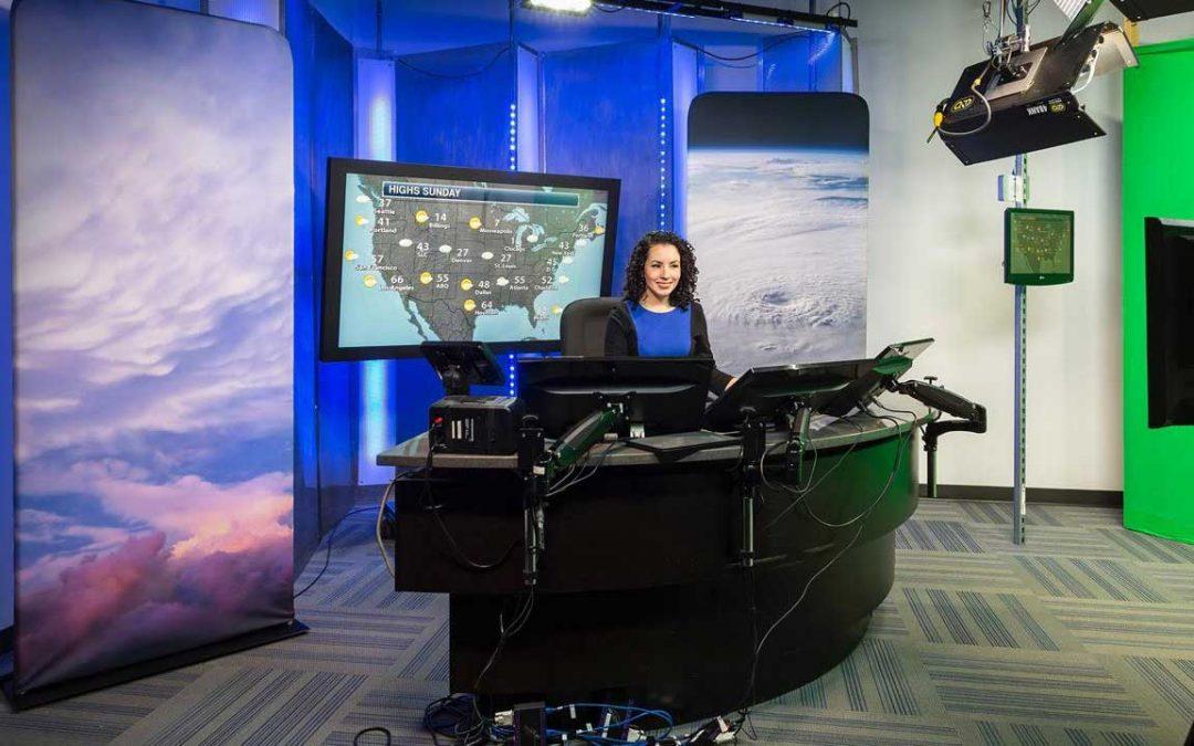 Praedictix Meteorologist Susie Martin in Studio