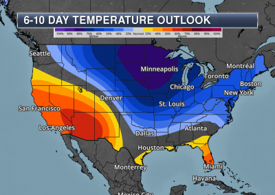 6-10 Temperature Outlook - Praedictix Weather Graphics