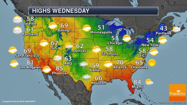Wednesday Weather Outlook – Ticks And Moose