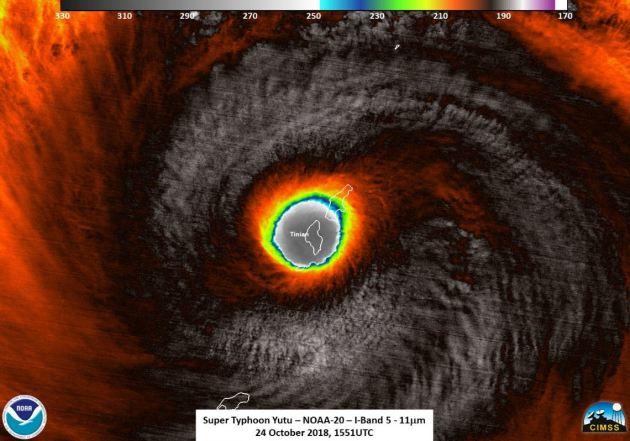 Super Typhoon Yutu – Upper Midwest Rain