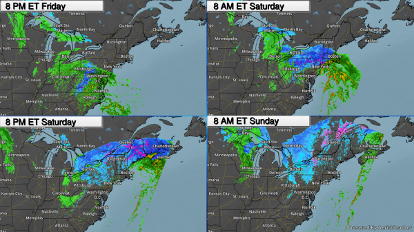 Lake Superior Rises – Northeast Coastal Storm