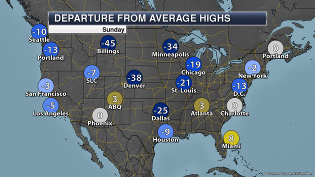 Major Storm To Bring Snowy Impacts From The Central Plains To Northeast – Sunday, March 3, National Weather Forecast