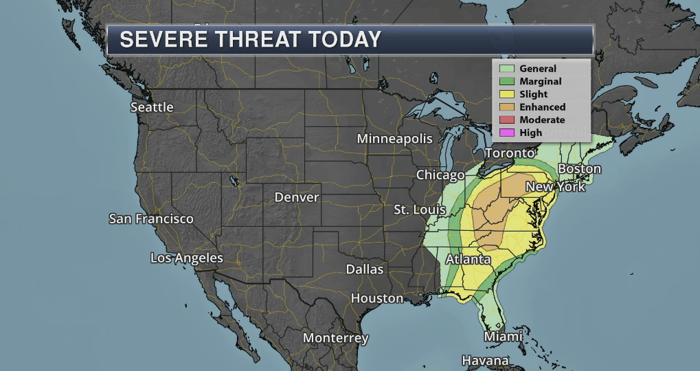 Severe Storms Sunday