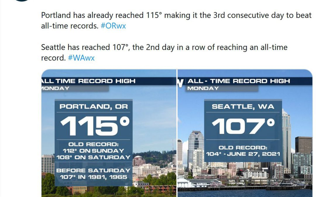 2020 Study: Extreme Heat Claims Over 5,000 American Lives Annually – Historic Heat Wave Grips Northwest